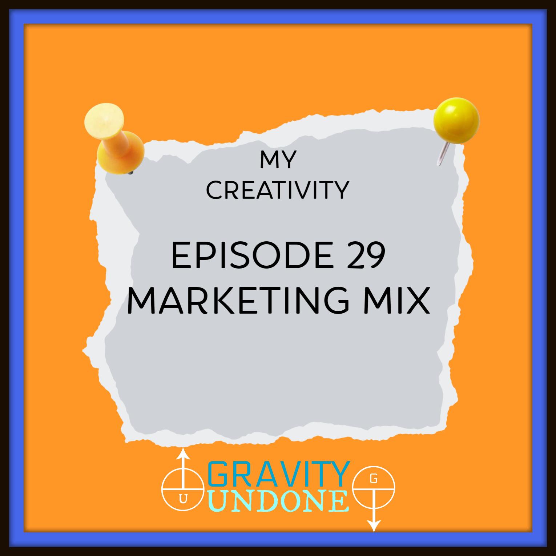 myCreativity29 - marketing Mix