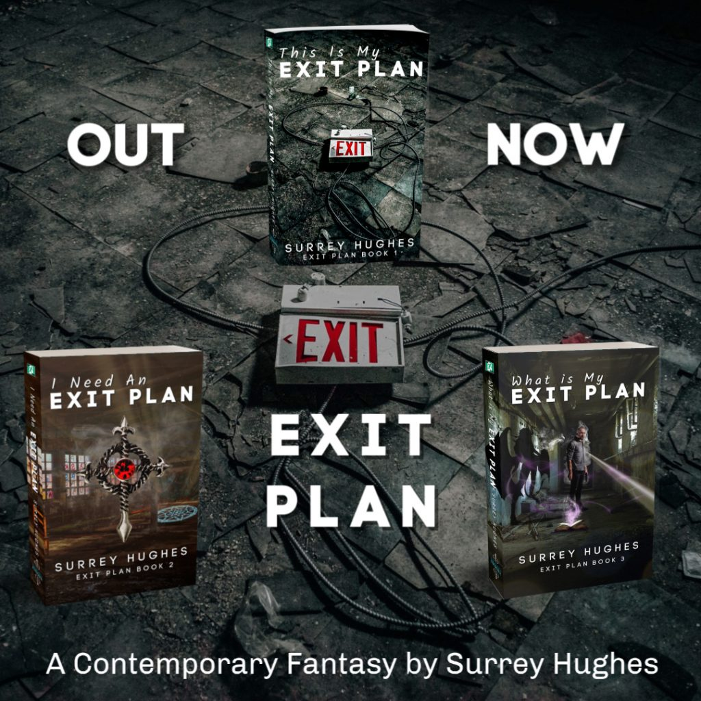 Exit Plan Trilogy Out Now