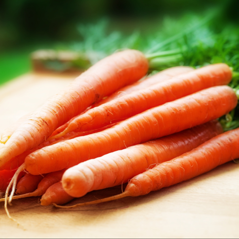carrots to get fit
